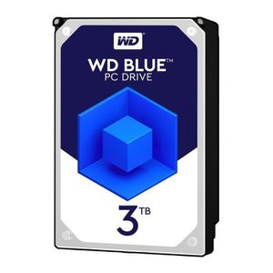 DISQUE DUR INTERNE WD Blue 3To 64Mo 3.5    WD30EZRZ