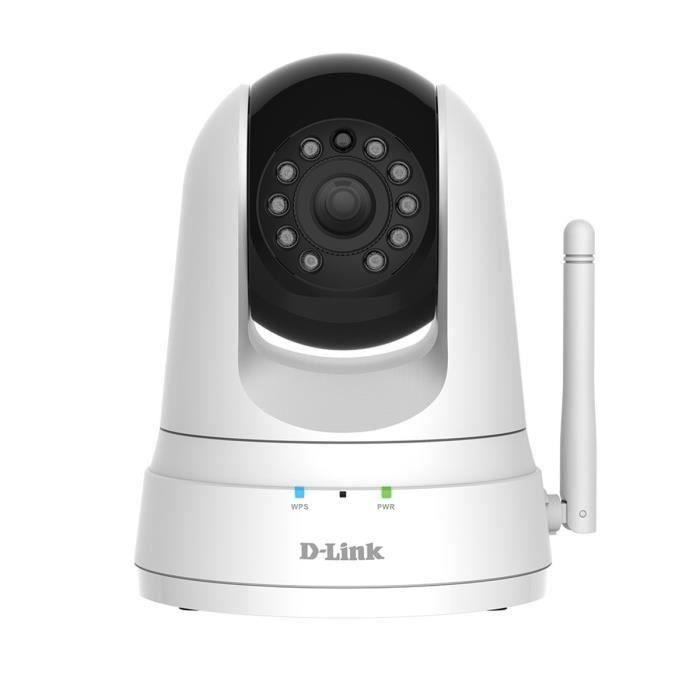 CAMÉRA IP D-Link - Caméra Wi-Fi panoramique horizontal/verti