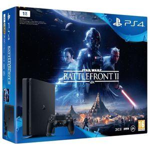 CONSOLE PS4 NOUVEAUTÉ Nouvelle PS4 1 To + Star Wars Battlefront II