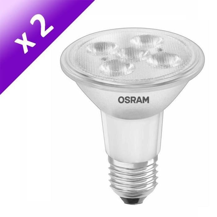 Spot 5 51 Lot Ampoules W De À Led Osram Équivalent 2 E27 Par20 qVzMpSU