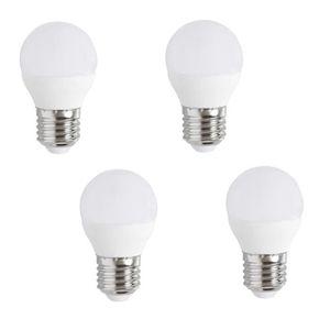 AMPOULE - LED EXPERT LINE Lot de 4 ampoules LED E27 G45 5 W équi