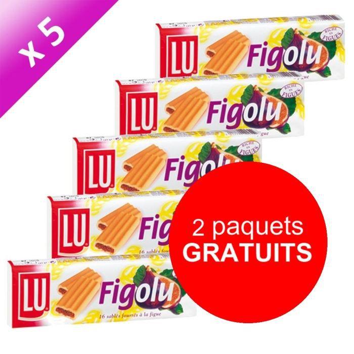 Lu Figolu 165g X5 Achat Vente Biscuits Secs Lu