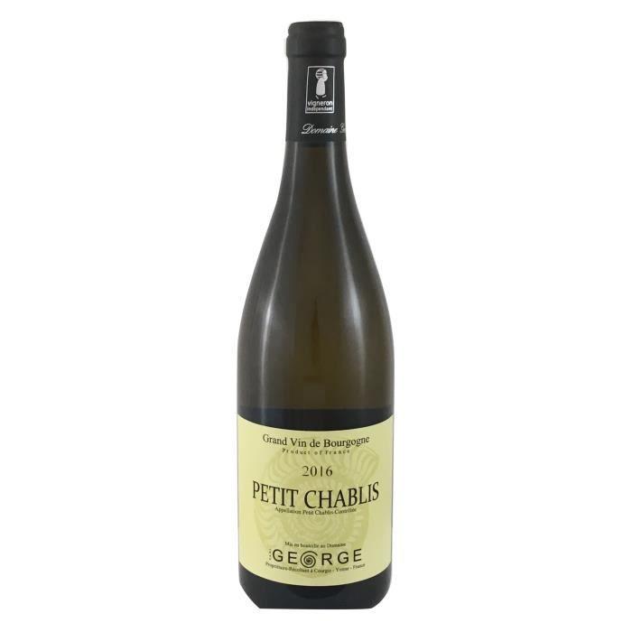 Domaine George 2016 Petit Chablis - Vin blanc de Bourgogne