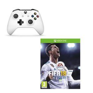 Pack Manette sans fil + Fifa 18