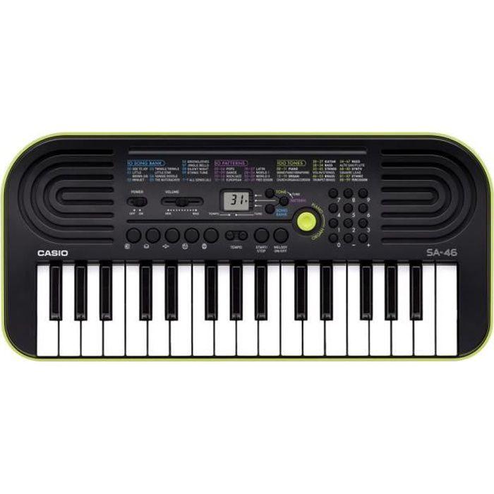 CASIO Mini clavier SA-46 32 touches