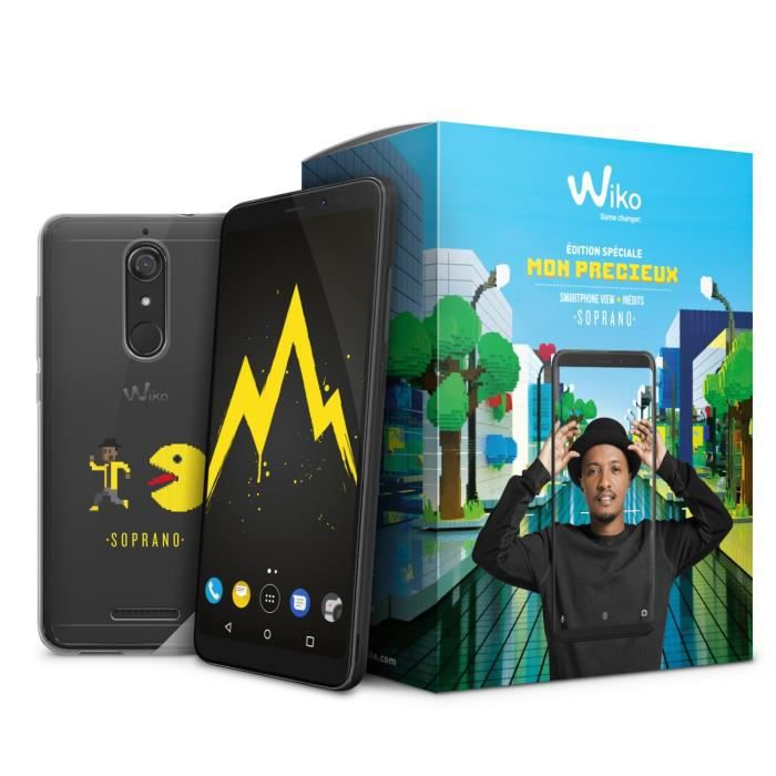 Wiko Pack View 32 Go Soprano Noir