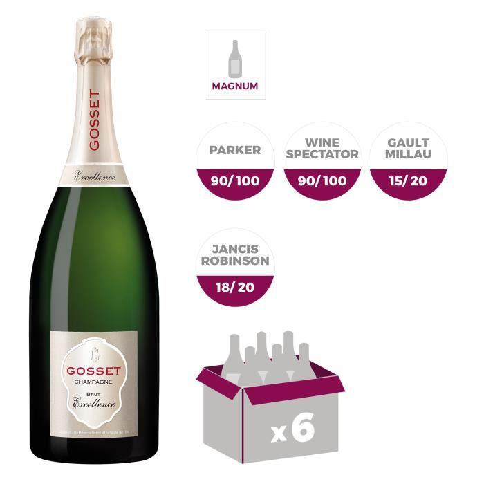 Champagne Gosset Brut Excellence MagnumCHAMPAGNE