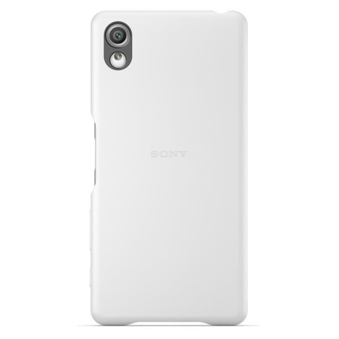 Sony Back Cover Blanc pour Xperia X