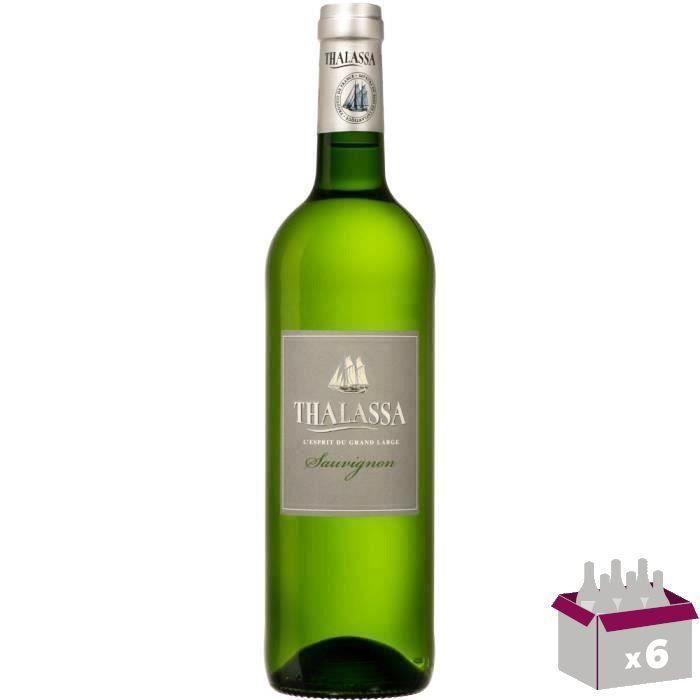 Thalassa Sauvignon Blanc 75cl vin blanc x6