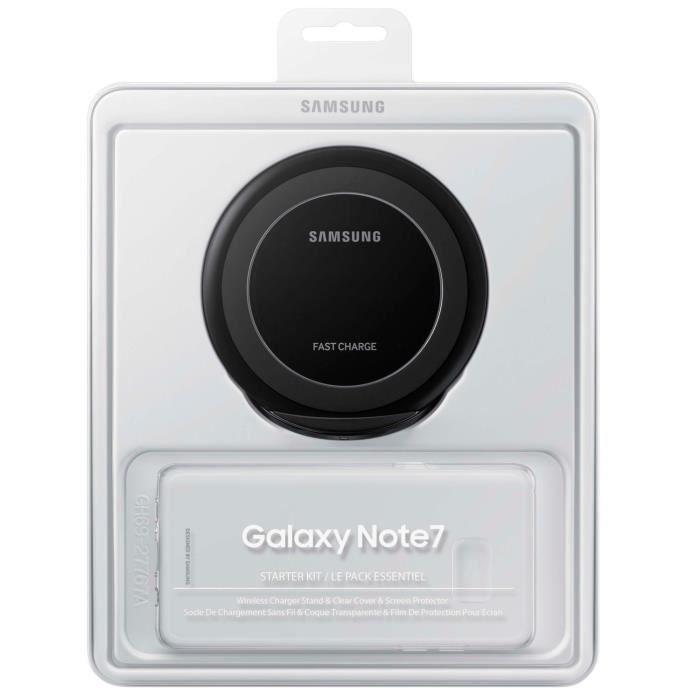 SAMSUNG Starter Kit Note 7 Transparent