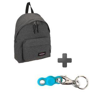 Pack EASTPAK EK62077H Gris Anthracite + My pocket Spinner