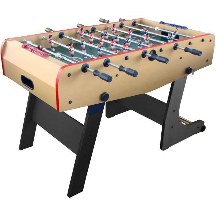 Arcade Jeux - Babyfoot Pliant barres télescopiques