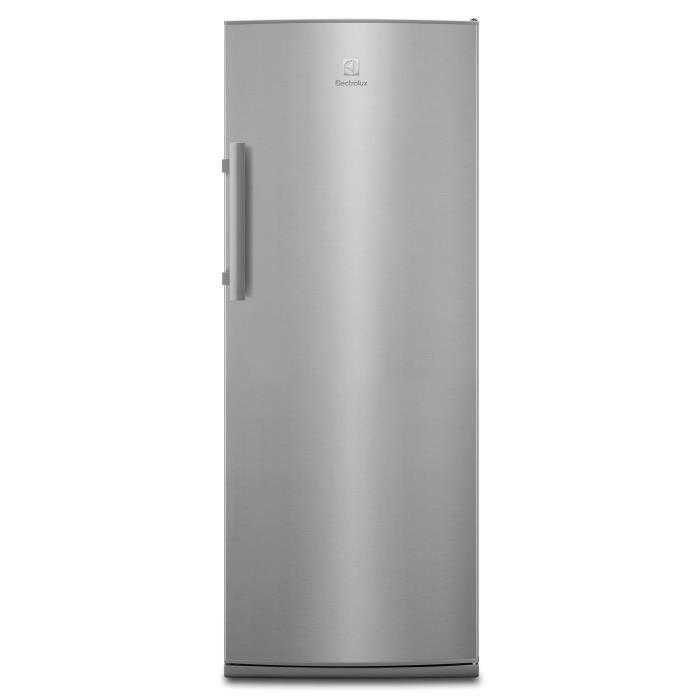 ELECTROLUX ERF3315AOX - Réfrigérateur 1 porte - 314L - Froid brassé - A+ - L 60cm x H 155cm - Silver