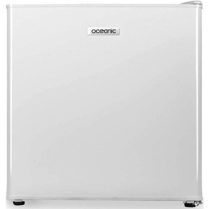 OCEANIC Réfrigérateur cube 46L, Froid statique, Classe A++, blanc