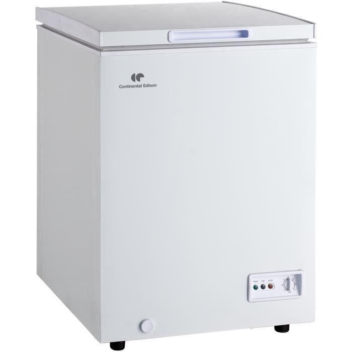 CONTINENTAL EDISON CECC95APW - Congélateur coffre - 95 L - Froid statique - A+ - Blanc