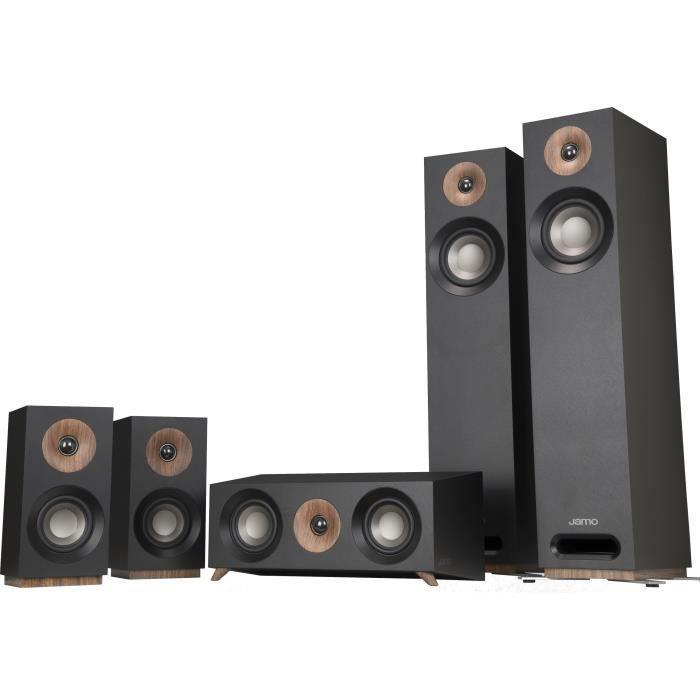 JAMO S805HCS Pack Home Cinéma 5.0 - Black Ash