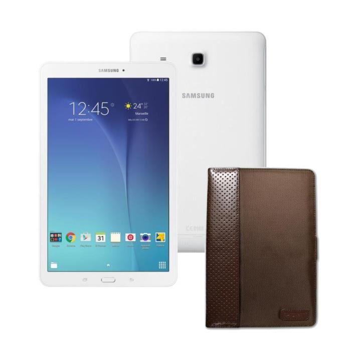 Samsung Galaxy Tab E + housse - 9,6\