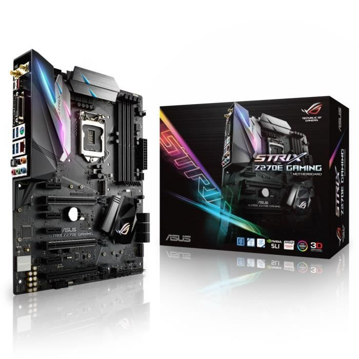 ASUS Carte mère STRIX Z270E GAMING 90MB0RN0-M0EAY0