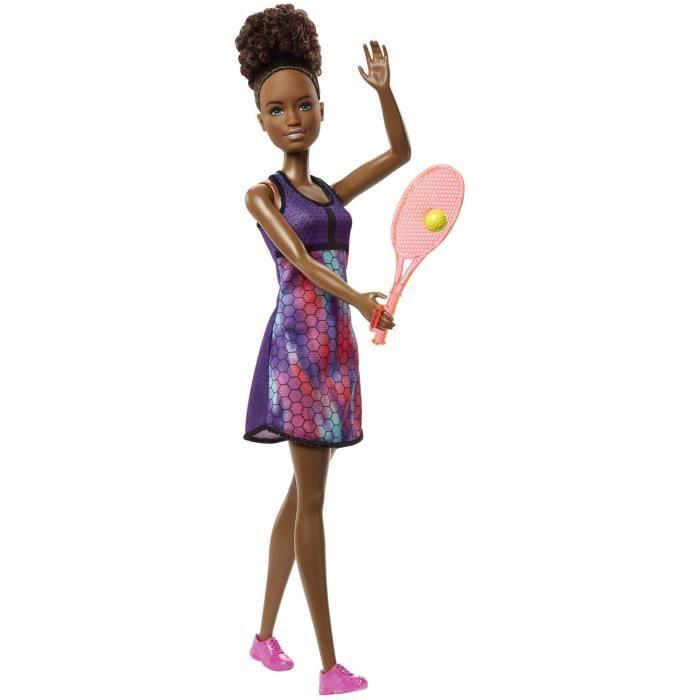 BARBIE - Barbie Joueuse de Tennis - Fille - A partir de 3 ans - Livré à l'unitéPOUPEE
