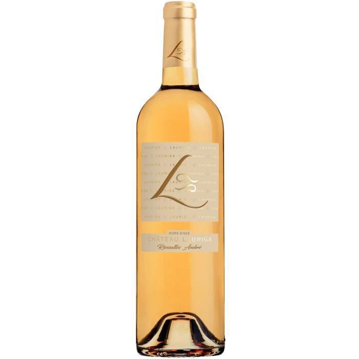 ChÂteau lauriga vin de rivesaltes hors dage ambré blanc aop 75 cl