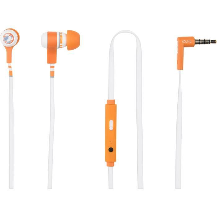 TRIBE SWING STAR WARS Ecouteurs intra-auriculaires avec microphone intégré BB-8