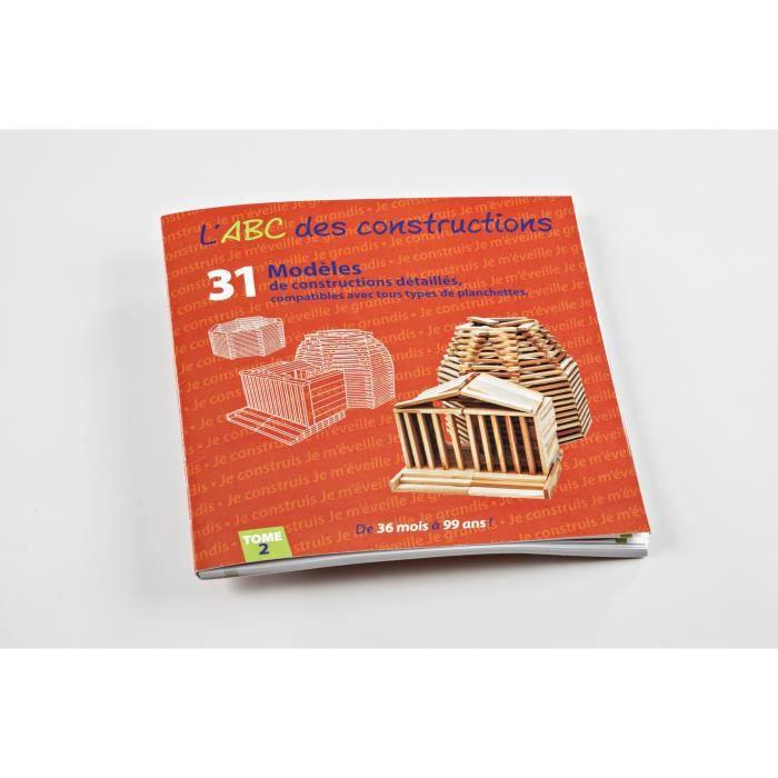 MECABOIS - Livre modèles ABC des Constructions en bois- Tome 2