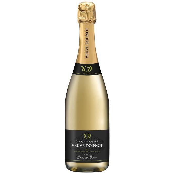 Champagne veuve doussot cuvée blanc de blancs brut