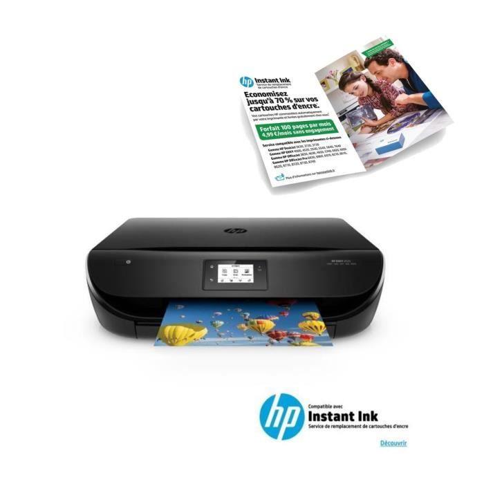 HP Imprimante ENVY 4525 + Forfait Instant Ink 100 pages pendant 3 mois