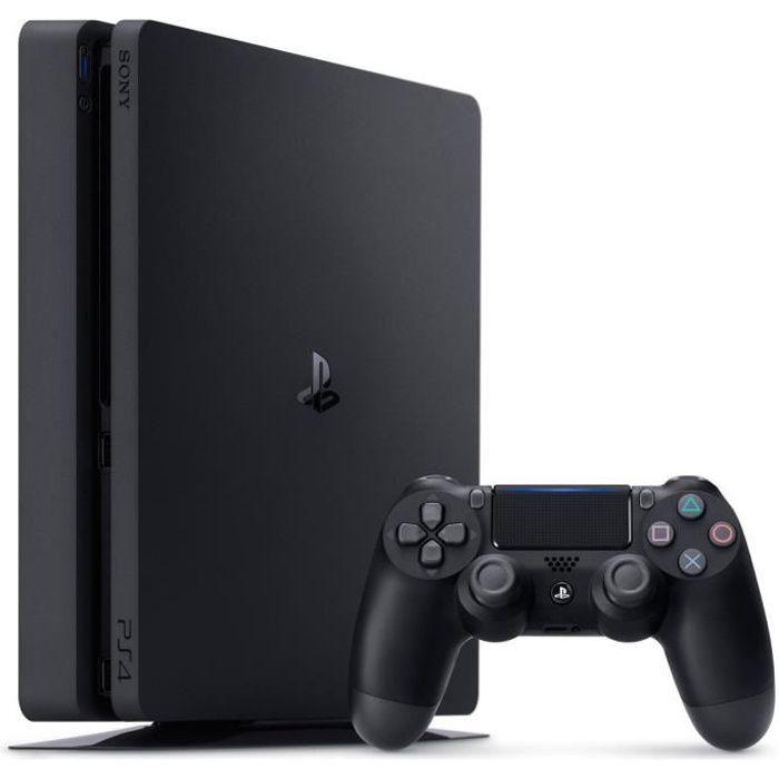 Console PS4 Noire 500 Go