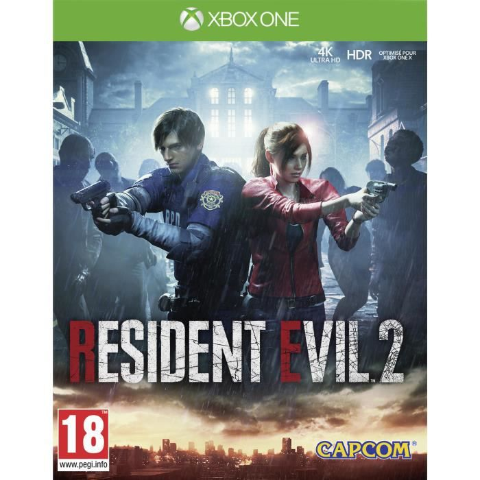 Resident Evil 2 Jeu Xbox One