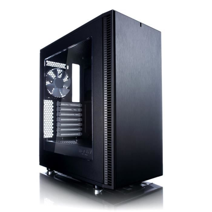 Fractal Design Boîtier PC Define C - Noir - Moyen Tour - Sans alimentation - Fenêtre