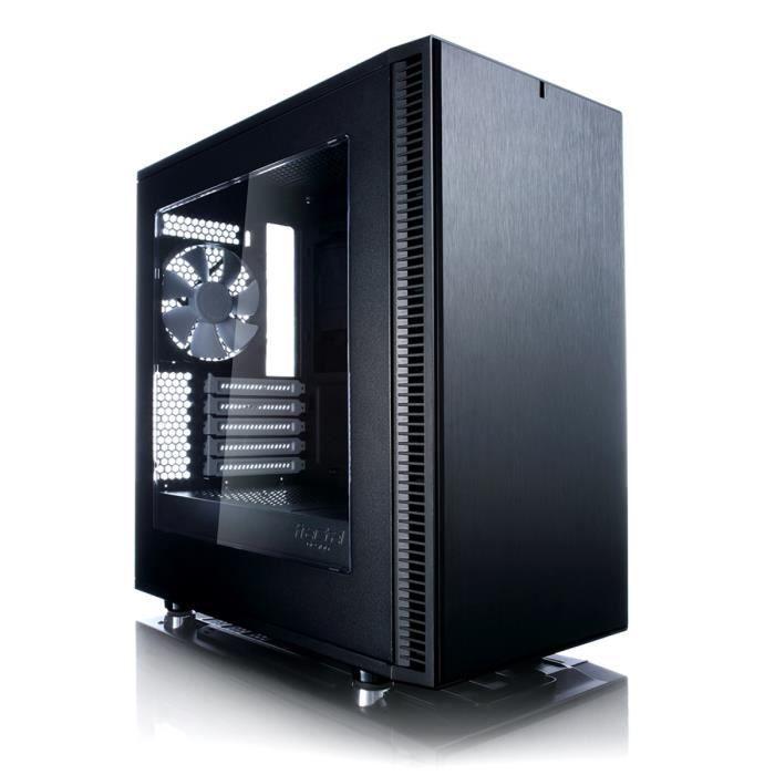 Fractal Design Boîtier PC Define Mini C - Noir - Moyen Tour - Sans alimentation - Fenêtre