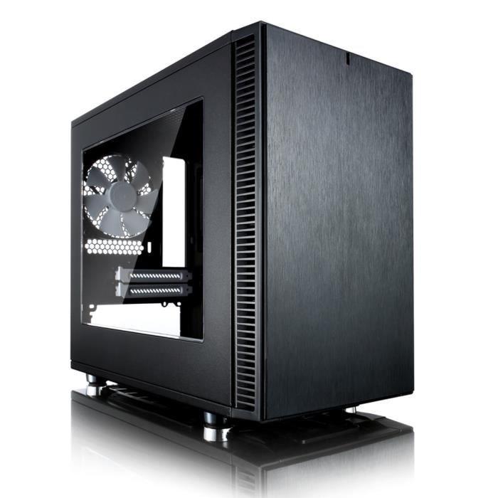 Fractal Design Boîtier PC Define Nano S - Noir - Mini Tour - Fenêtre