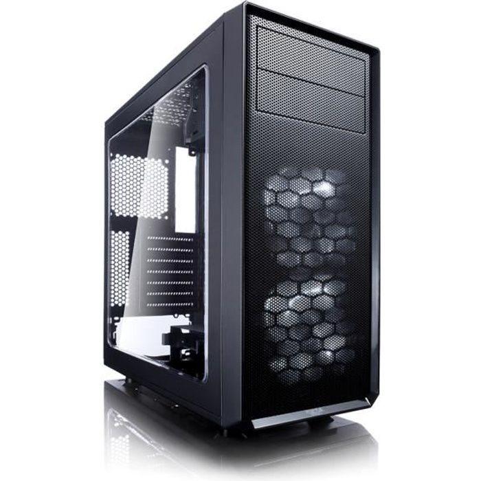 Fractal Design Boîtier PC Focus G - Moyen Tour - Fenêtre - Noir