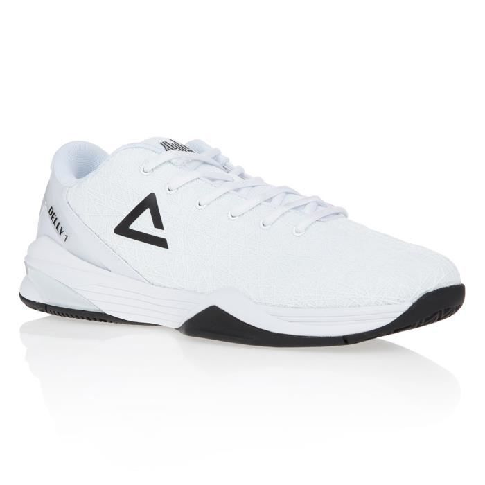 PEAK Chaussures de basketball Delly 1 - Homme - Blanc