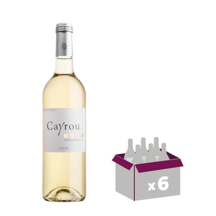 AOP Côtes du Roussillon - 75 clVIN BLANC
