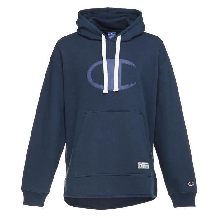 CHAMPION Sweatshirt à capuche - Homme - Bleu