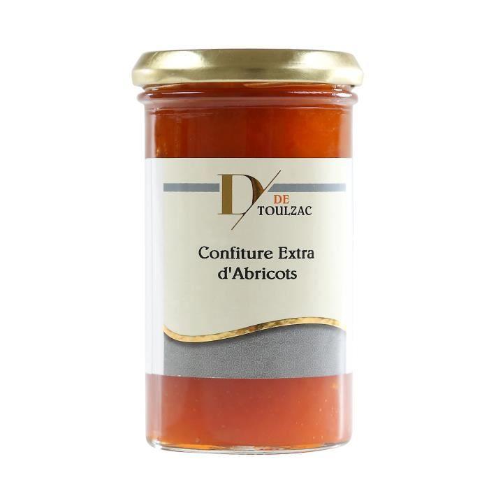D DE TOULZAC Confiture Extra d'Abricots 320g