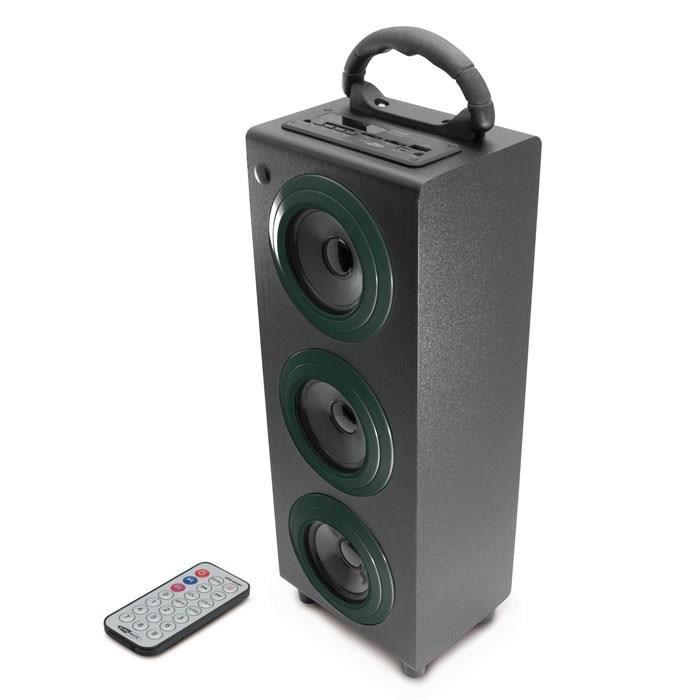 CALIBER HPG 510BT Enceinte bluetooth portable noir - Prend en charge le profil A2DP et AVRCP - Permet de lire des fichiers USB et la carte SD (jusqu'à 32Go) - Radio FMENCEINTE NOMADE - HAUT-PARLEUR NOMADE - ENCEINTE PORTABLE - ENCEINTE MOBILE - ENCEINTE B