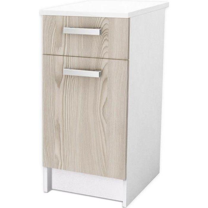 start meuble bas de cuisine avec plan de travail l 40 cm d cor fr ne sabl. Black Bedroom Furniture Sets. Home Design Ideas