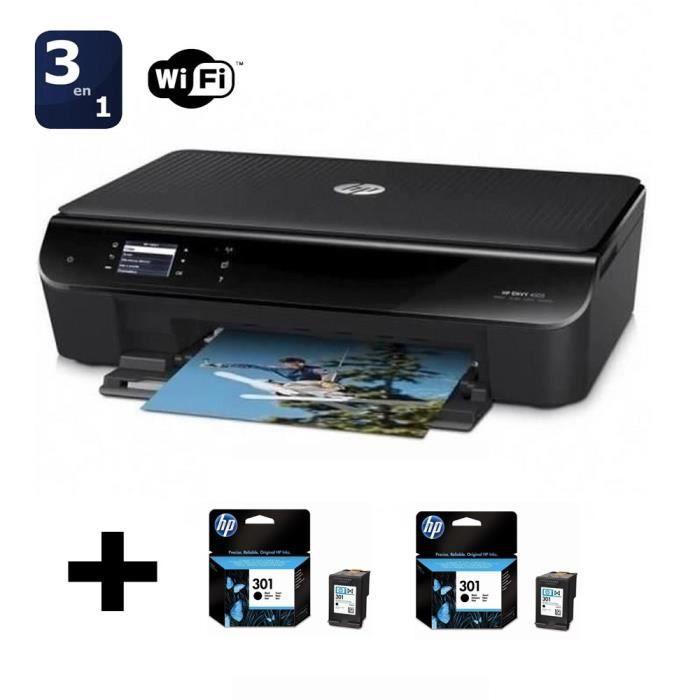 HP Envy 4503 + pack 2 cartouches HP n° 301 Noir