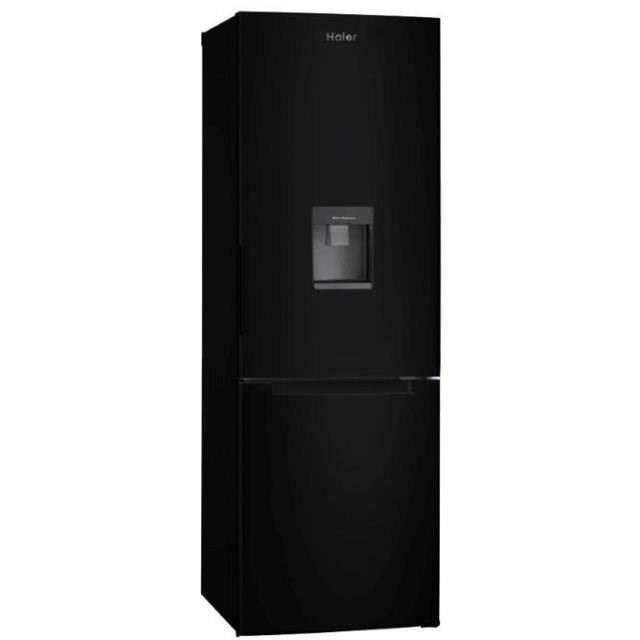 Congélateur bas - 309L (220+89) - Froid statique - Distributeur d'eau - A+ - L 60cm x H 185cm - Noir brillantREFRIGERATEUR CLASSIQUE
