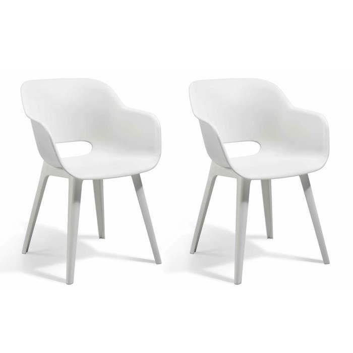 ensemble table chaise fauteuil allibert jardin