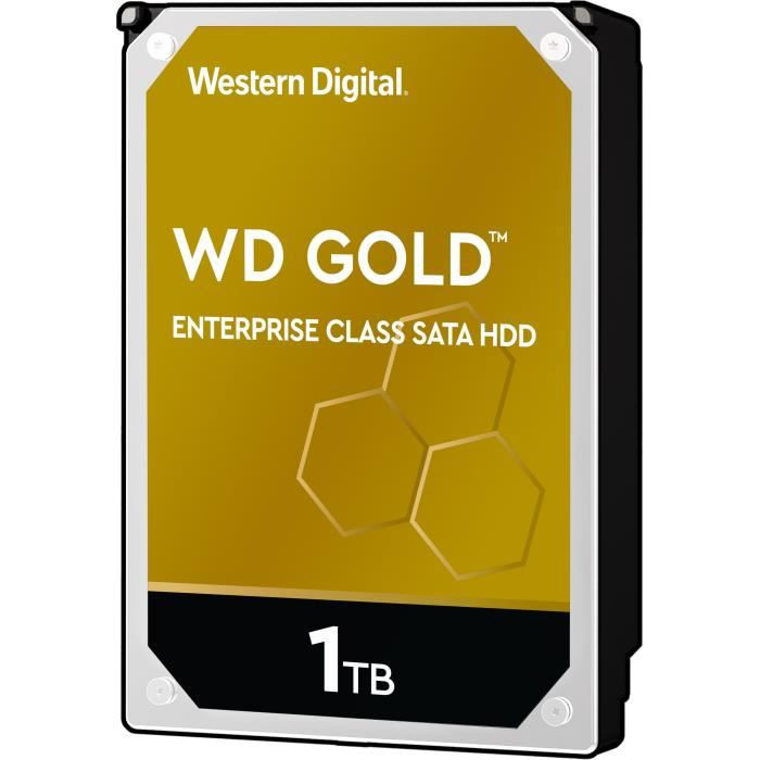 WD Disque dur interne Gold - 1To - 128Mo - 3.5\