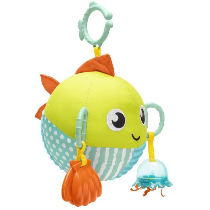 FISHER-PRICE - Mon Poisson d'Activités - Jouet d'Éveil - Dès la naissance