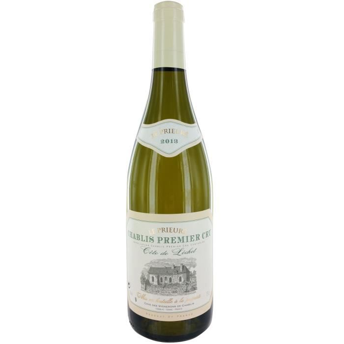 La Chablisienne Chablis Cote de Lechet Le Prieuré 2013 - Vin blanc