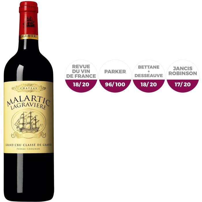 Château Malartic Lagravière - 2015 - Pessac-Léognan - Vin Rouge - 75 clVIN ROUGE