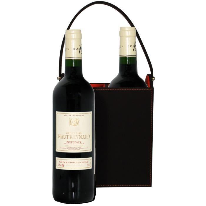 Coffret So Chic + 2 Ch. Haut Reynaud 2015 AOC Bordeaux - Vin Rouge