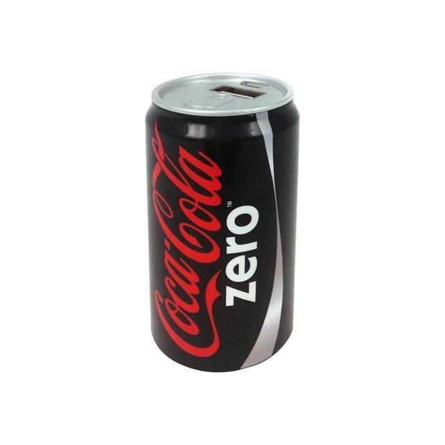 Urban Factory Power Bank 2000 mAh Batterie de Secours Coca-Cola Noir Zéro