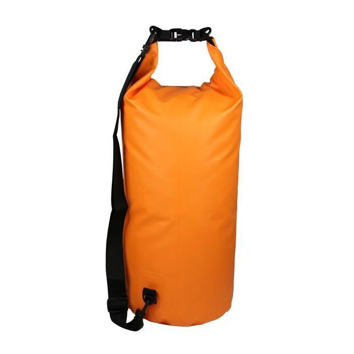CAO CAMPING Sac étanche - 40 L - Orange et noir